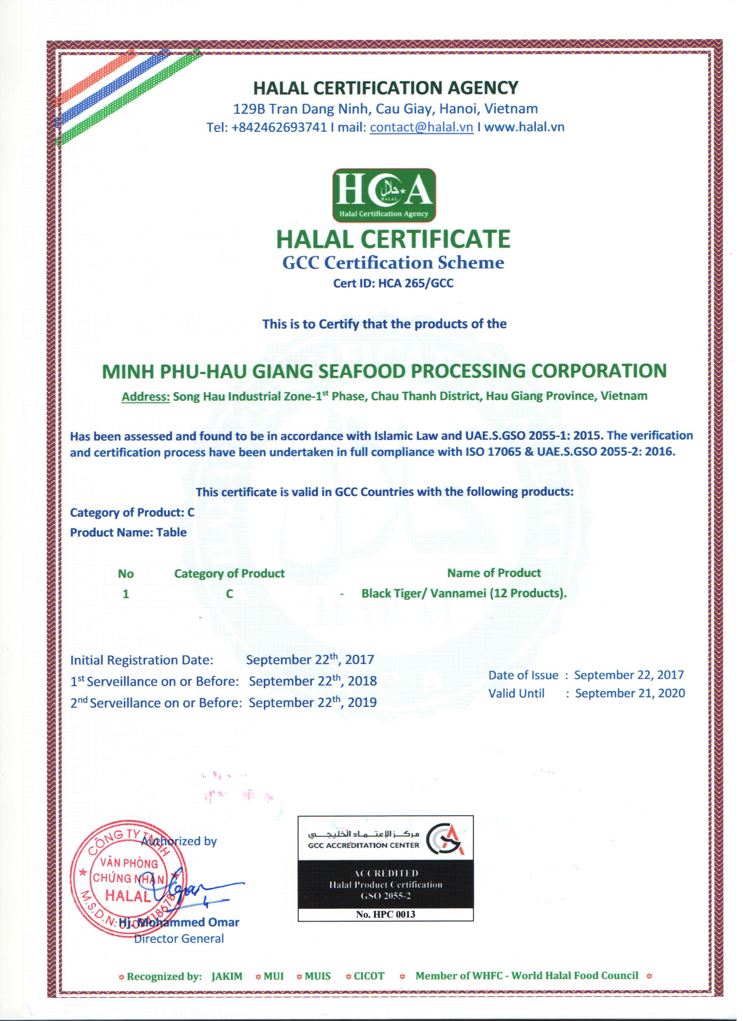 22.09.2017-Minh Phu Hau Giang GCC