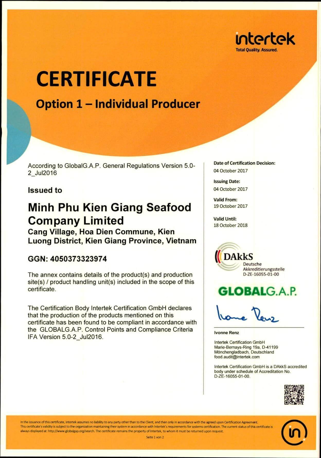 GGAP_Minh Phu Kien Giang Certificate_p1